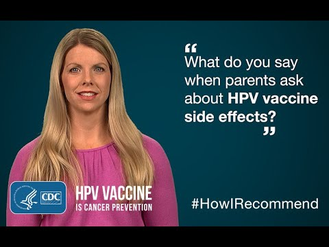 hpv vaccine side effects swelling endometrial cancer bleeding