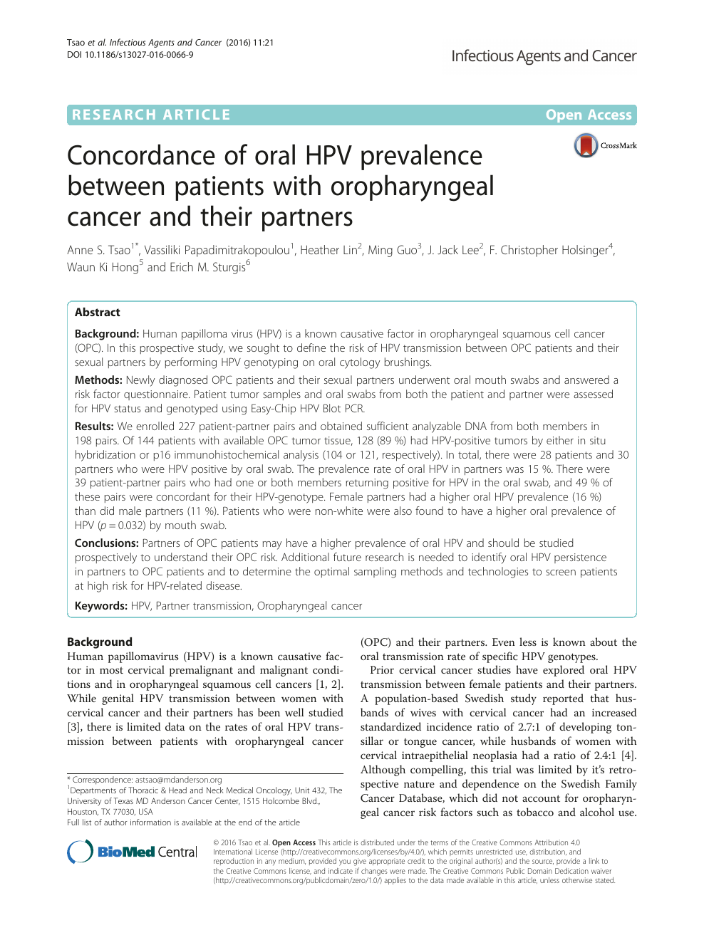hpv mouth swab hpv new medicine