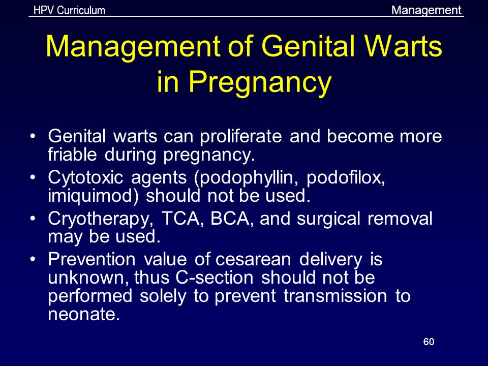 wart treatment during pregnancy hiv and bone cancer