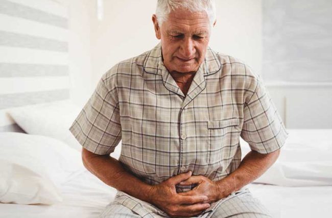 gastric cancer pain