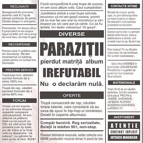 Parazitii - Bad Joke Lyrics