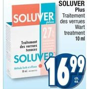 wart treatment soluver