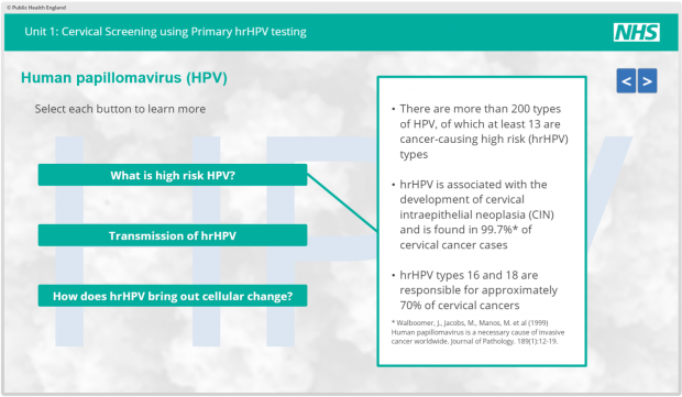 hpv prevention nhs cancer bucal tesis